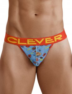 Clever Laugh Thong Underwear Blue 1214
