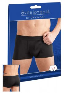 Svenjoyment Push Up Microfibre Boxer Brief Underwear Black 2132060