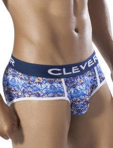 Clever Paradise Piping Brief Underwear Blue 5256