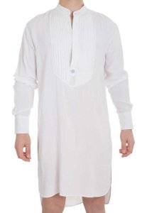L'Homme Invisible Sensations Nightshirt Loungewear White HW1...