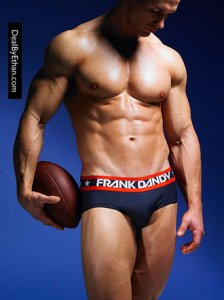 Frank Dandy Hank Brief Underwear Navy Blue 10247-325