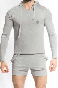 L'Homme Invisible Ben Hoodie Long Sleeved Sweater Grey SP129...