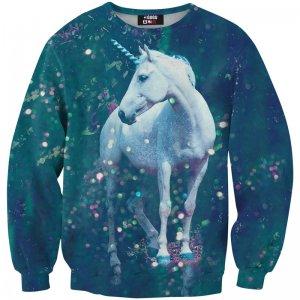Mr. Gugu & Miss Go Unicorn Unisex Sweater S-PC105