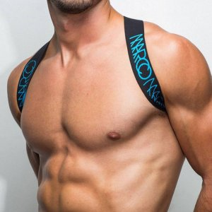 Marco Marco Elastic Body Harness Blue