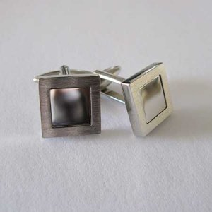 Distino Of Melbourne Formal Brush Cufflinks C33