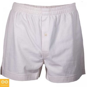 Rawganique Bathurst Organic Prima Cotton Knit Loose Boxer Sh...