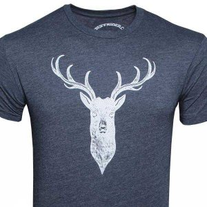 Ruff Riders Buck Short Sleeved T Shirt Midnight Navy