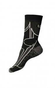 Litex Crew Socks Light Grey 99623
