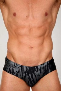 Pistol Pete Ice Bikini Swimwear Black BF342-165