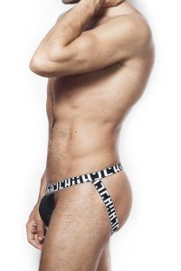 L'Homme Invisible Eternal Chic Jock Strap Underwear Black MY41-CON-001