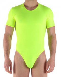 X-Ban Fluomania Dancing String Bodysuit Fluo Yellow 27600-A0170