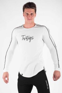 Twotags Verve Long Sleeved T Shirt White