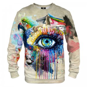 Mr. Gugu & Miss Go All Over Print Unisex Sweater S-PC879
