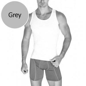 Jam Underwear Body Muscle Tank Top T Shirt Grey JAMRWS01