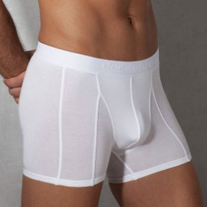 Doreanse Plain Boxer Brief Underwear White 1755