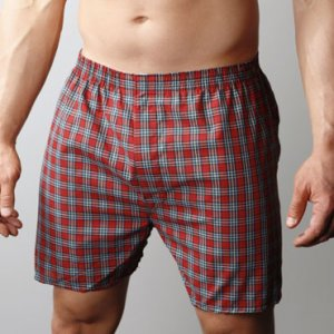 [2 Pack] Players Big Man's Broadcloth Loose Boxer Shorts Underwear Fancies