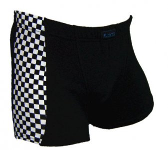 Lord Boxer Brief Chess Stripe 8184