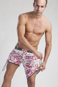 Geronimo Shorts Swimwear Rose 1111P9
