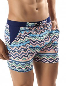 Clever Coba Square Cut Trunk Swimwear Blue 0594