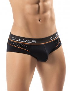 Clever Zolo Brief Underwear Black 5234