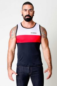 CellBlock 13 Back Alley Tank Top T Shirt Red CBS020