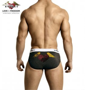 Big Roger Sport Brief Underwear Grey BRU1102