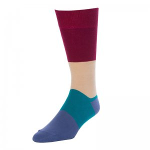 Strollegant CAPTAIN Crew Socks Red