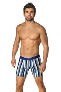 Xtremen Microfiber Boxer Brief Underwear Blue 51332