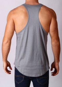 Gym Clothing Racerback Weight Training Stringer Tank Top T S...
