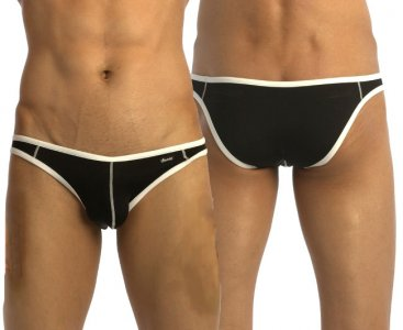 Groovin Accent V Cut Bikini Underwear Black BV0402