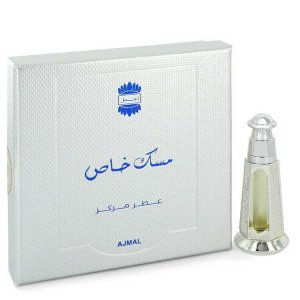 Ajmal Musk Khas Concentrated Perfume Oil (Unisex) 0.1 oz / 2...