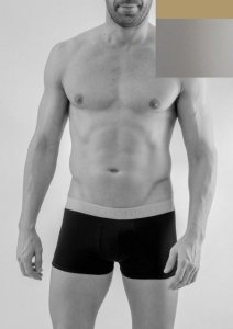 Geronimo Boxer Brief Underwear Light Grey 1667B1-3