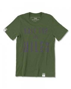 The Well Branded Only Top For Miles 100% Airlume Cotton Classix Short Sleeved T Shirt Chive