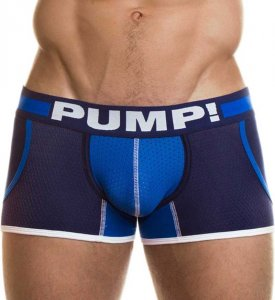 Pump! Titan Jogger Pockets Boxer Brief Underwear Navy/Royal Blue 11035