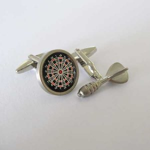 Distino Of Melbourne Novelty Darts Cufflinks CDARTS
