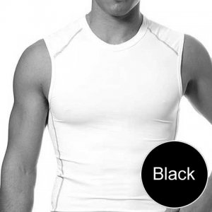 Speedo FSII Muscle Top T Shirt Black 443011
