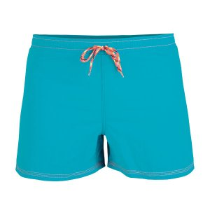 Litex Solid Mesh Lined Shorts Swimwear Petroleum/Orange 9366...