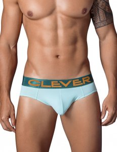 Clever Navy Latin Brief Underwear Green 5323