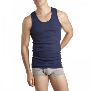 [6 Pack] Bonds Chesty Tank Top T Shirt Navy M757