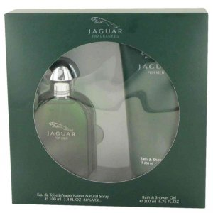 Jaguar Eau De Toilette Spray 3.4 oz / 100.55 mL + Bath & Sho...