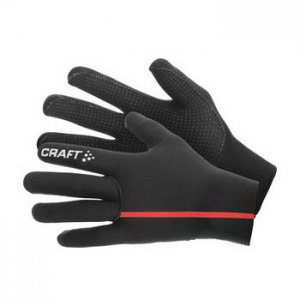 Craft Neoprene Gloves Black/Bright Red 1902932