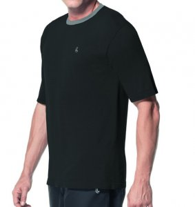 Lupo Nova York Seamless Dry Short Sleeved T Shirt Black 7001...