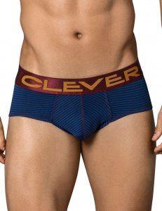 Clever Figaro Classic Brief Underwear Blue 5355