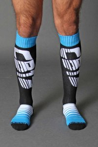 CellBlock 13 Velocity Socks Blue A042