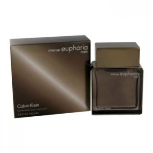 Calvin Klein Euphoria Intense Eau De Toilette Spray 3.4 oz / 100.55 mL Men's Fragrance 462168