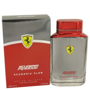 Ferrari Scuderia Club Eau De Toilette Spray 4.2 oz / 124.21 ...