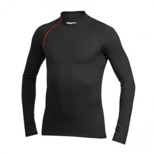 Craft Active Extreme Long Sleeved T Shirt Black/Red 190983