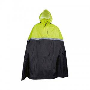 Didriksons Selsey Safety Cape Unisex Rainwear Neon 549102