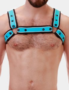 Barcode Berlin Wladi Harness Blue/Black/White 91686-417