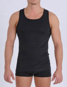 Ginch Gonch Signature Tank Top T Shirt Black MSG123